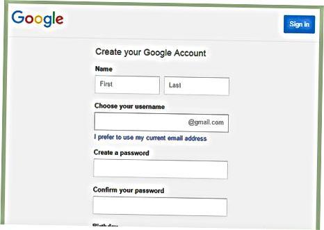 Yangi Google Docs faylini yaratish