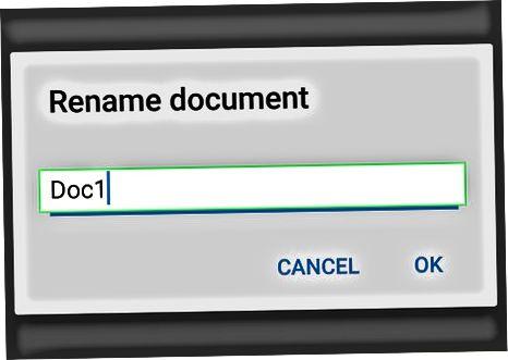 मोबाइल पर फाइलें बनाना