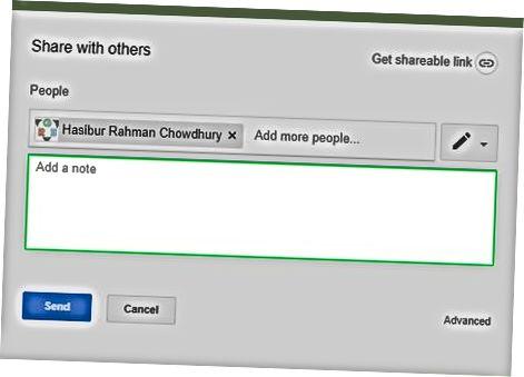 डेस्कटॉप पर फ़ाइलें साझा करना