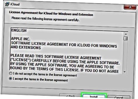 Windows uchun iCloud-dan foydalanish