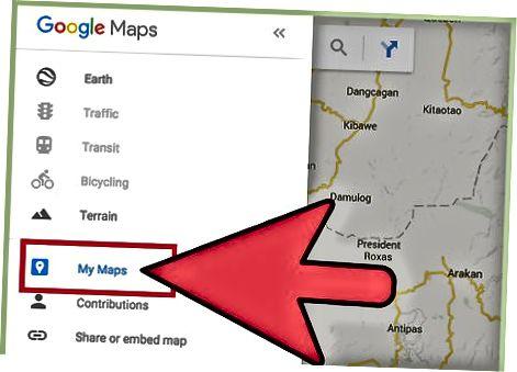 Google मानचित्र वेबसाइट का उपयोग करके अपने रन (पीसी) को ट्रैक करें