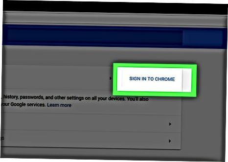 Chrome-ni zaxiralash