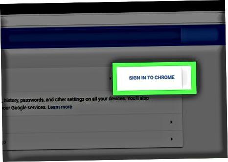 Ish stolida Chrome brauzerini tiklash