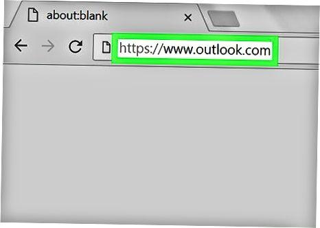 Arxiv jildiga Outlook veb-saytida kirish.