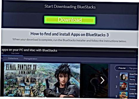 BlueStacks-dan foydalanish