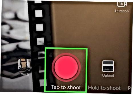 TikTok videolariga effekt qo'shish