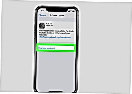 Apple urug'i orqali dasturiy ta'minotni sinash