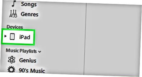 ITunes-dan sinxronlashtirish (macOS Mojave va oldingi yoki Windows)