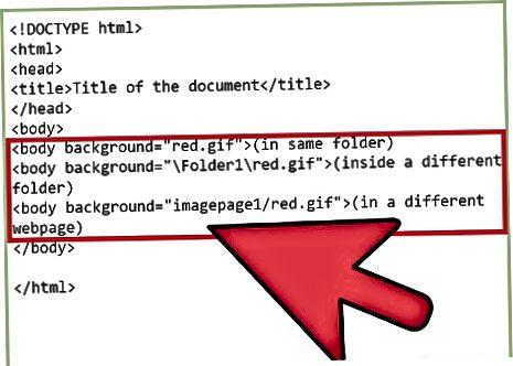 HTML usullari