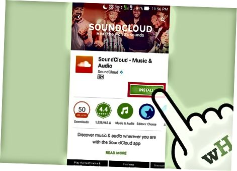 SoundCloud ilovasidan foydalanish