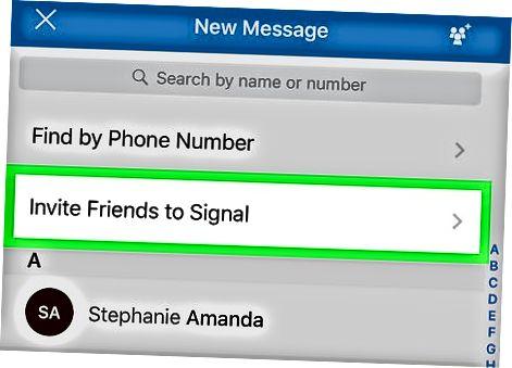 Kontaktlarni signalga taklif qilish