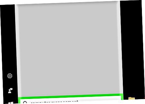 Uso del panel de administración de la computadora