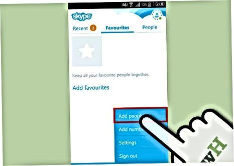 Android uchun Skype-dan foydalanish
