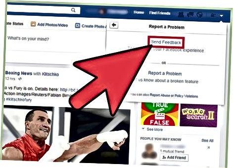 फेसबुक वेबसाइट के माध्यम से गृहनगर निर्माण के लिए अनुरोध