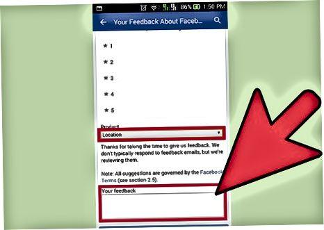 गृहनगर निर्माण के लिए अनुरोध करने के लिए फेसबुक मोबाइल ऐप का उपयोग करना