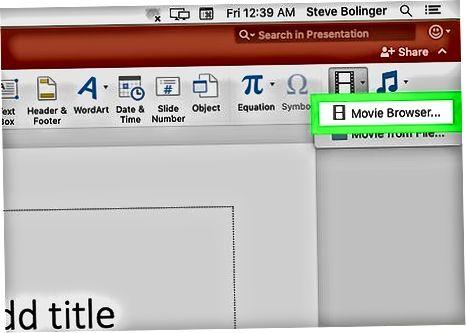 Videolarni Filmlar papkasidan, iMovie yoki iTunes-dan import qilish
