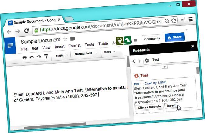 google-docs-eina de recerca