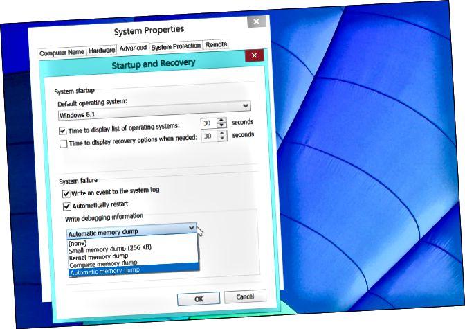 windows-memory-dump-επιλογές
