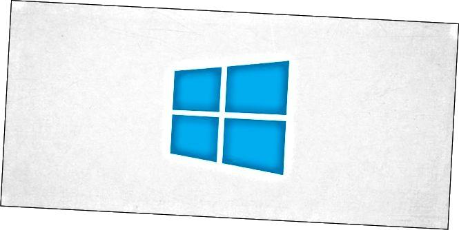 El logotip de Windows 10.