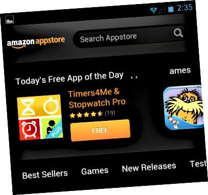Amazon-appstore-для Android