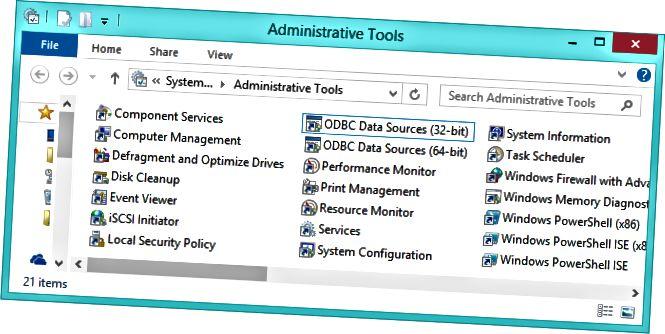 관리 도구-폴더-온-윈도우 -8.1 [4]
