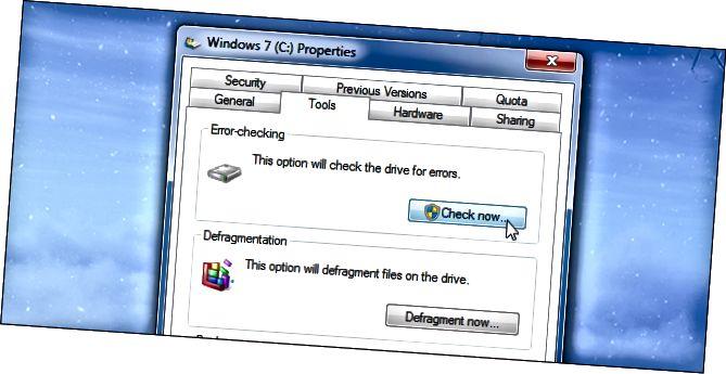 Windows-disc-comprovació d'errors