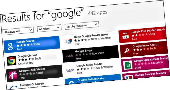 αναζήτηση-για-google-σε-windows-κατάστημα