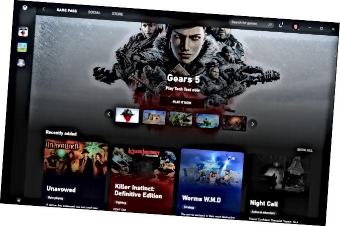 Xbox Game Pass με το παιχνίδι Gears 5.