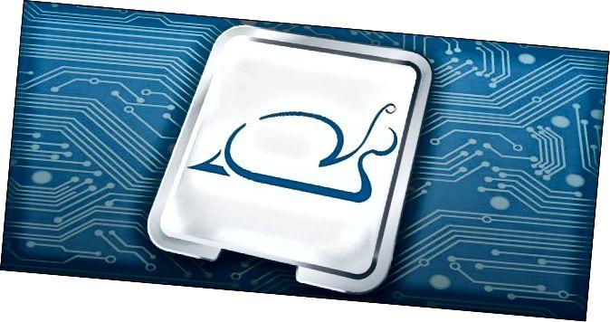 CPU με λογότυπο σαλιγκαριού