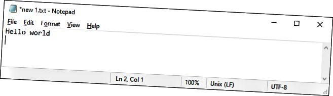 Σημειωματάριο στα Windows 10