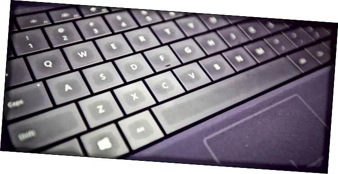 спалучэнне клавіш Windows-10