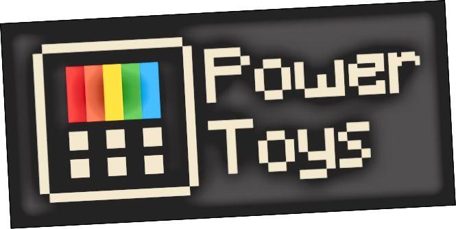 Νέο λογότυπο Microsoft PowerToys ανοιχτού κώδικα για Windows 10