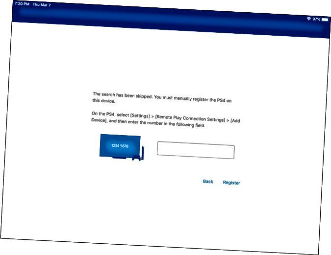Ρύθμιση απομακρυσμένης αναπαραγωγής PS4 σε iPad