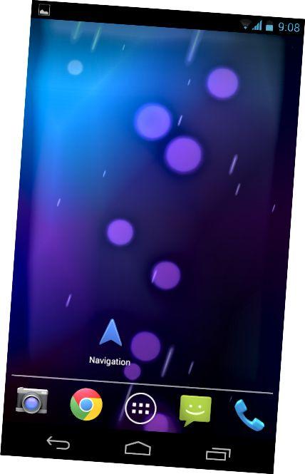 δημιουργία-android-πλοήγηση-συντόμευση