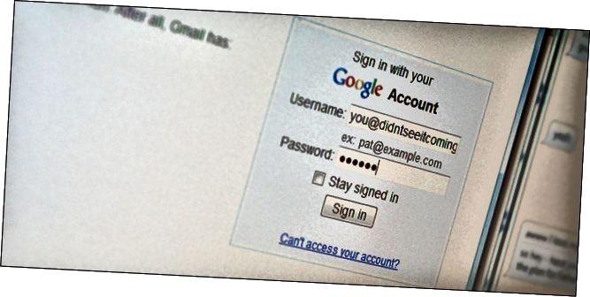 парушэнне пароля