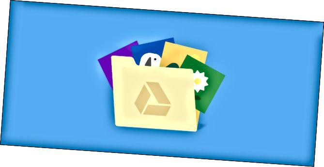 Φάκελος φωτογραφιών Google Drive
