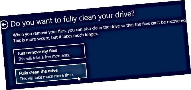 windows-8-გადატვირთვისას სრულად სუფთა