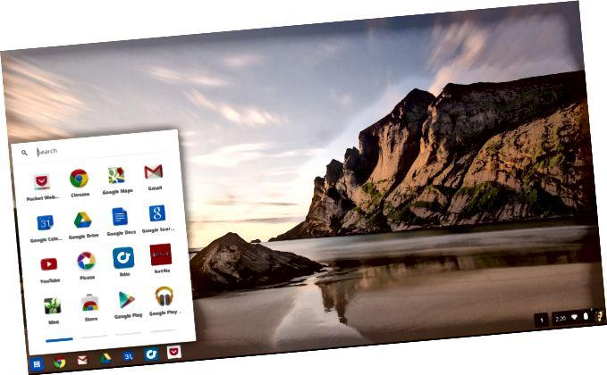 krom-os-desktop-dhe-app-lëshimi