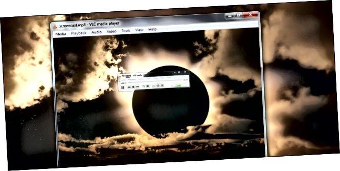 Capçalera de pantalla vlc