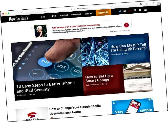 Safariのような軽量ブラウザでWebを閲覧する