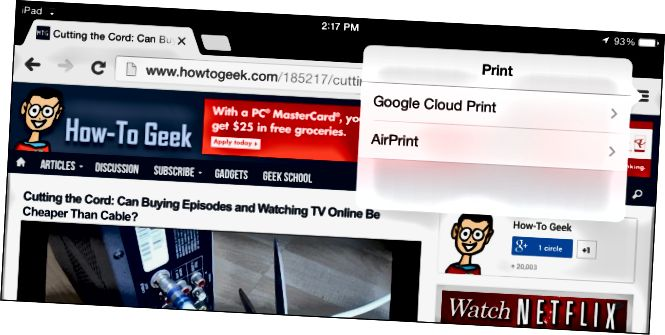 Google এর মেঘ-প্রিন্ট-ইন-Google এর ক্রোম-মোবাইল