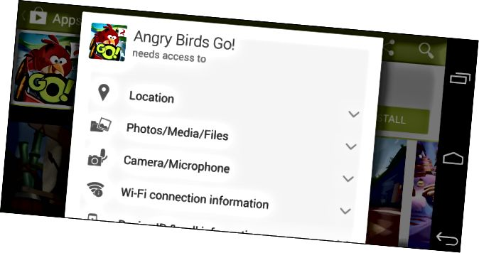 sistema simplificat-androide-aplicació-permís-permís