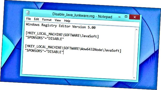 disable-java-ask-toolbar-registry-hack