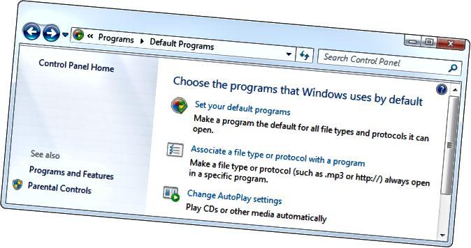 Windows-default-programes