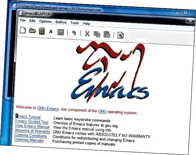 gnu-emacs-on-windows