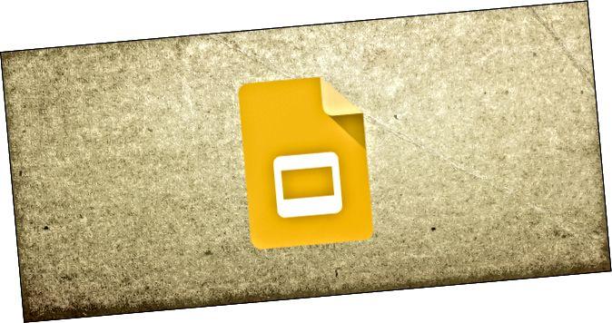 El logotip de Google Slides