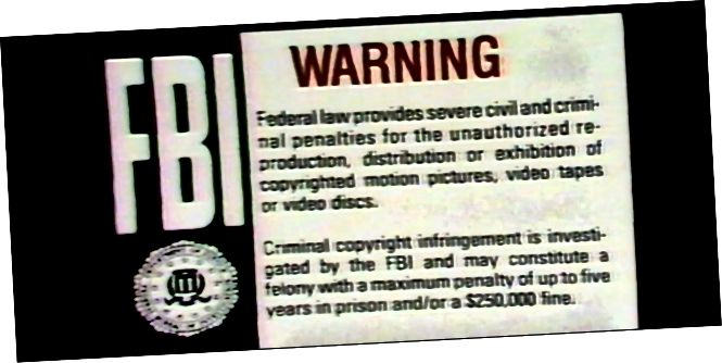 Папярэджанне пірацтва ФБР