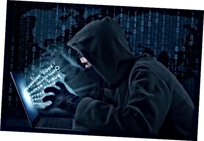 פעילות האקר שגונבת מידע על המשתמש