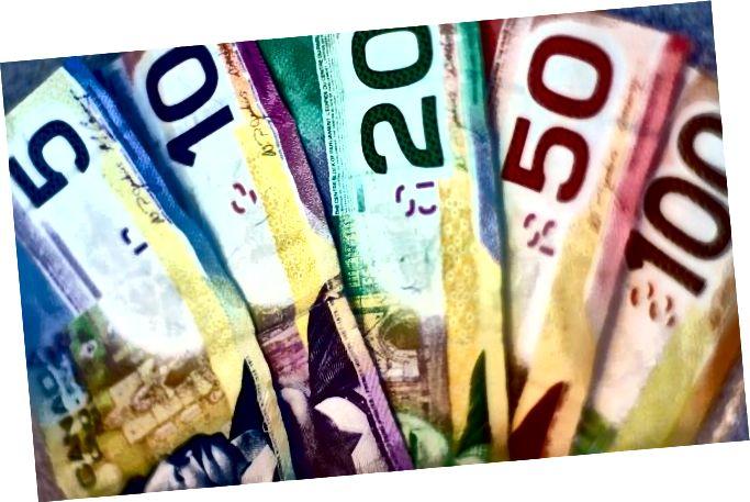 канадскіх долараў