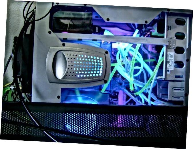 PC-sistema de refrigeració per aigua
